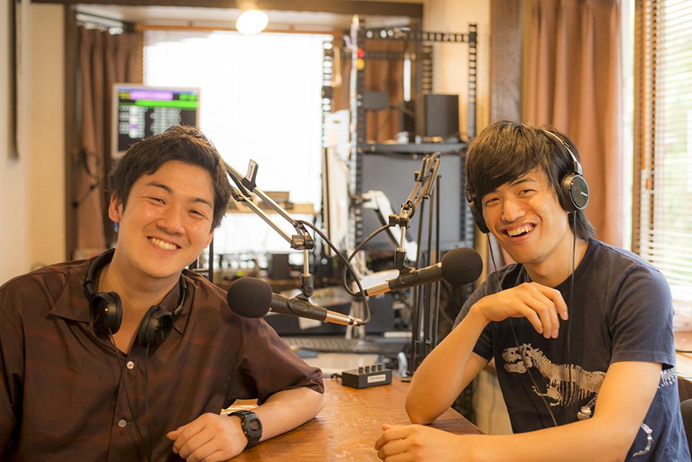 久留飛雄己と伊東潤のそれっぽいラジオ